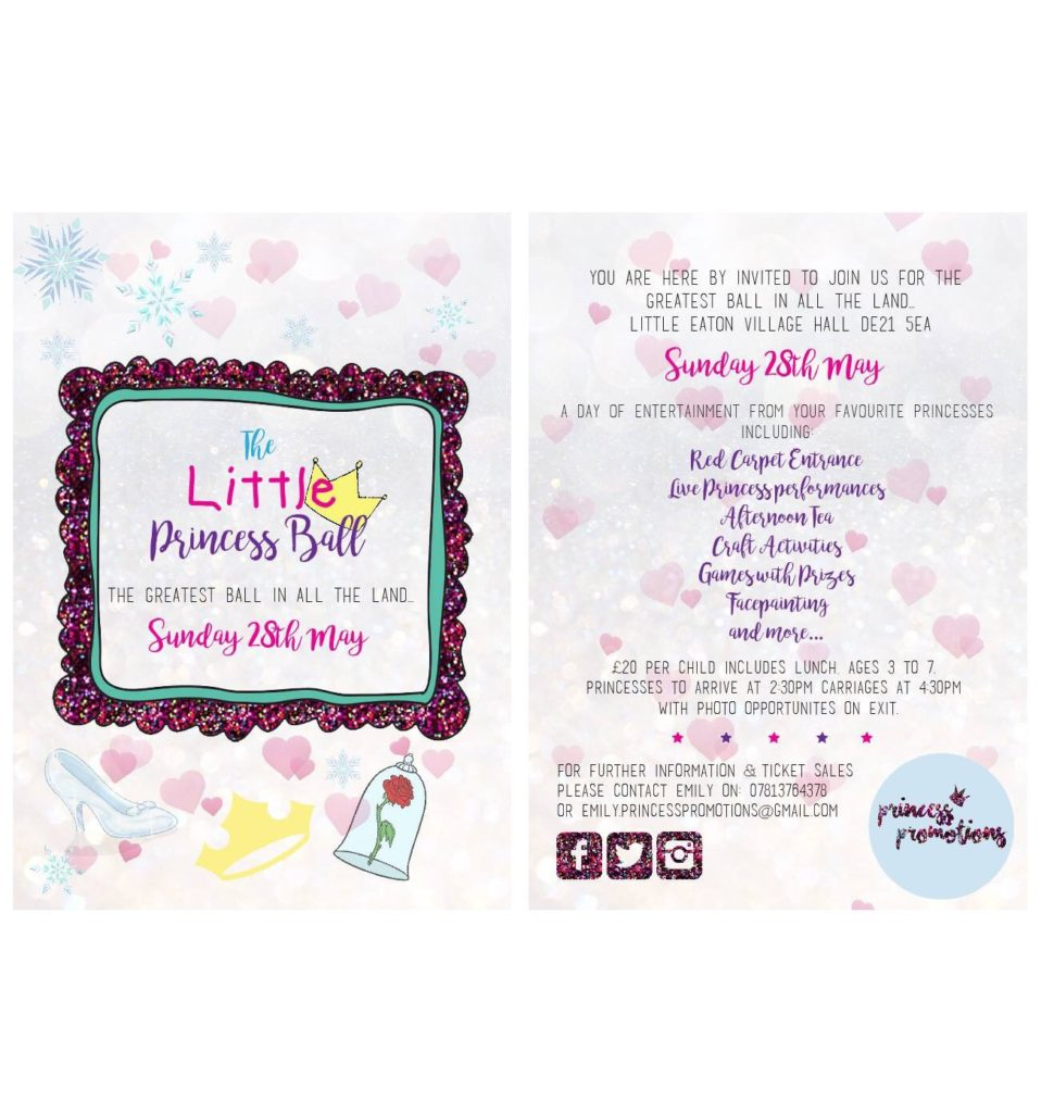 Princess Parties Derbyshire
